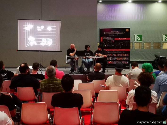 Feria del videojuego Madrid Games Week 2019. Parte 1. RetroWorld e Historia de los Videojuegos.