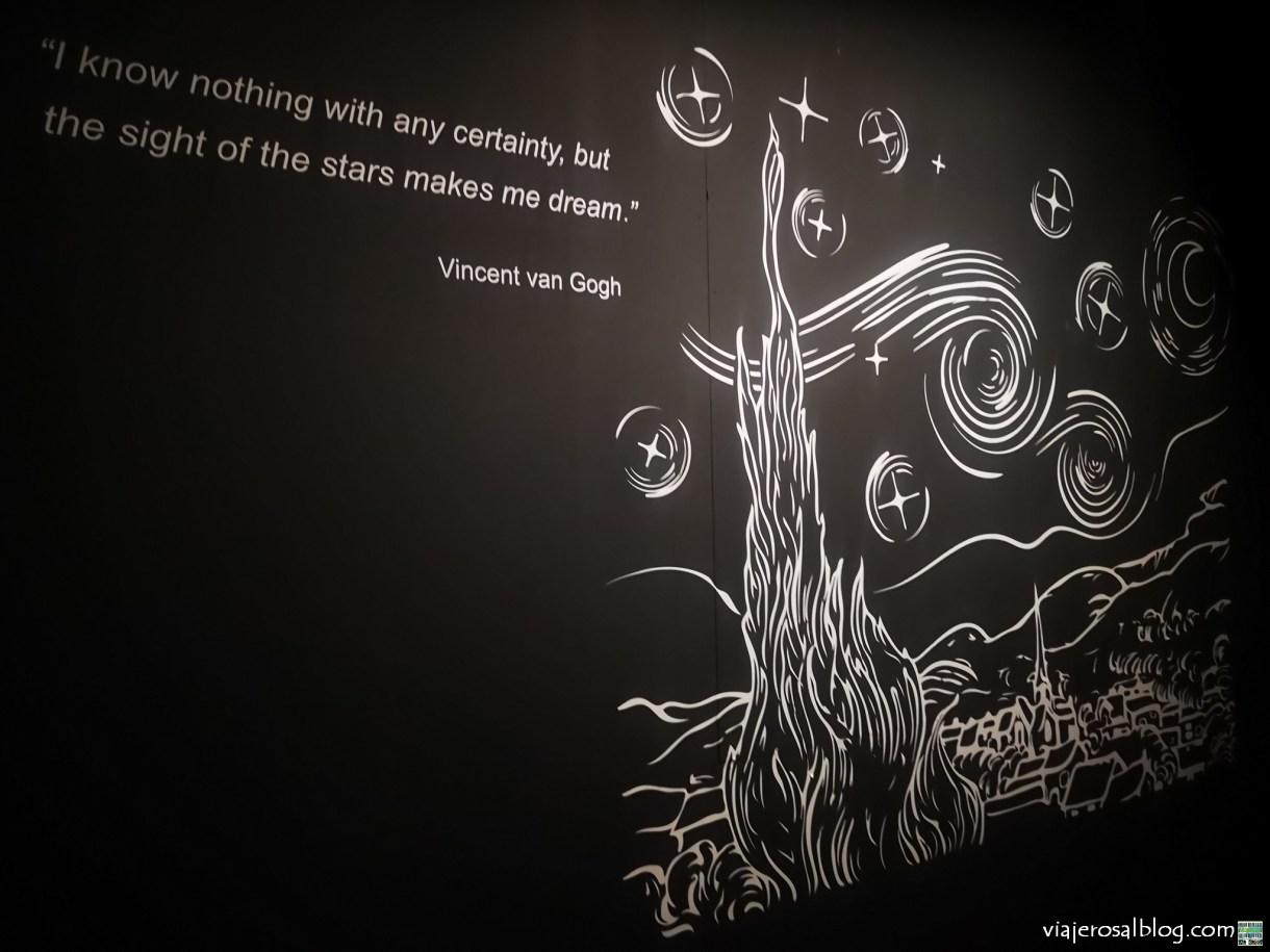 Van Gogh Alive - The Experience. Círculo de Bellas Artes, Madrid.
