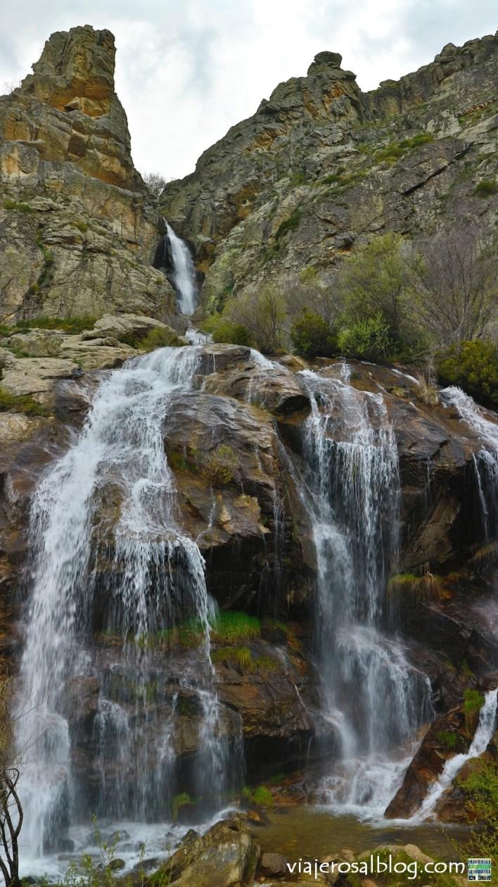 Chorrera de los Litueros (Somosierra, Madrid). Espectacular ruta senderista – Vol.5.