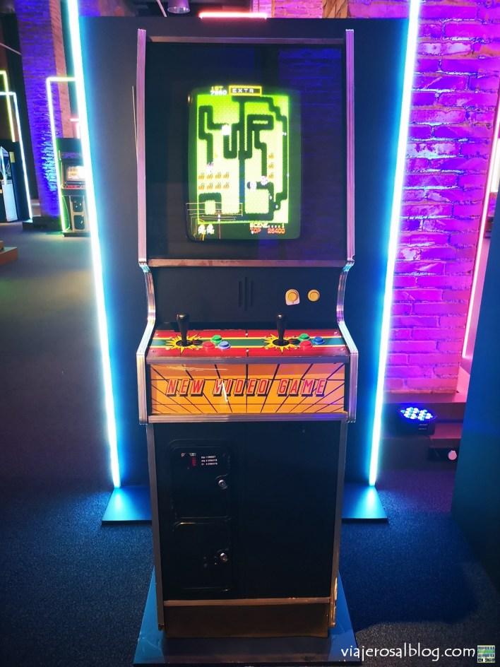 Exposición Game On; la historia del videojuego 1972-2020. Fundación Canal, Madrid.