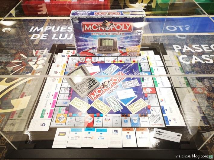 Exposición Monopoly 85 años. El Corte Inglés de Preciados, Madrid.