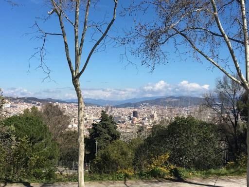 Vistas desde Montjuic
