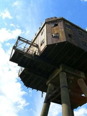 Fortalezas marinas Maunsell - 08