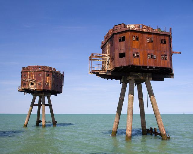 Fortalezas marinas Maunsell - 19