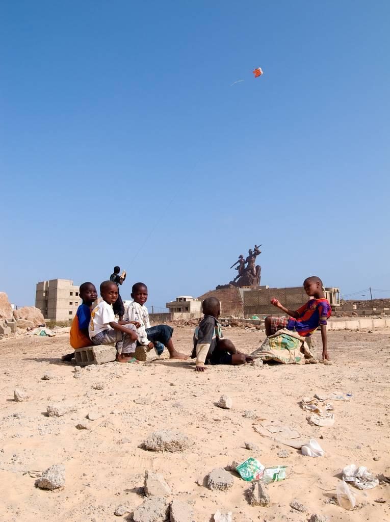 Monumento al Renacimiento Africano - Dakar, Senegal, África - 08