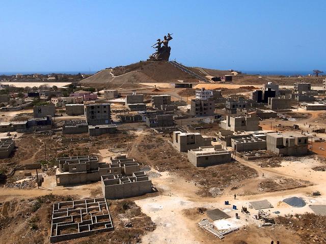 Monumento al Renacimiento Africano - Dakar, Senegal, África - 09