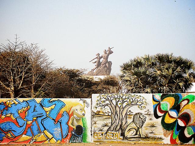 Monumento al Renacimiento Africano - Dakar, Senegal, África - 10