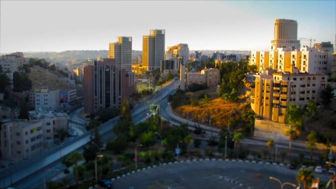 Amán - Amman ciudad en movimiento - Timelapse 1