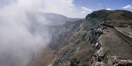 Volcán Masaya en Nicaragua