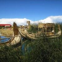 Las islas flotantes del lago Titicaca, unas casas singulares