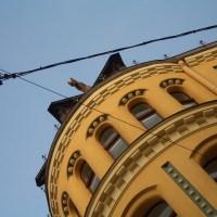 La Casa de los Gatos en Riga: Una pelea felina