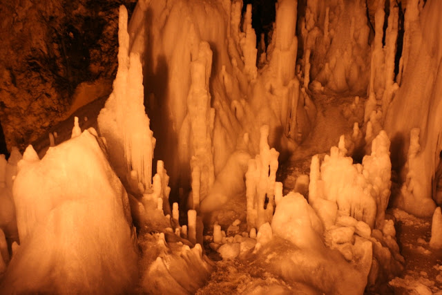 Cuevas de hielo: Scarisoara, Rumania