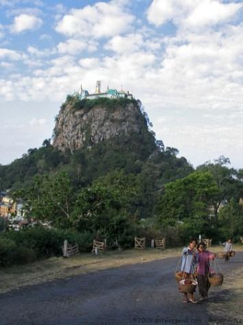 Taung Kalat (Pedestal hill) at Mount Popa