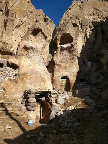 Village of Cave Houses, Iran