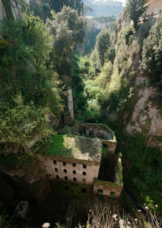 Deep Valley of the Mills in Sorrento