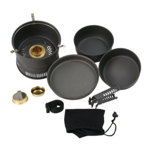 10T Scout Set of Pots 7-Piece Grey by 10T Outdoor Equipment 2