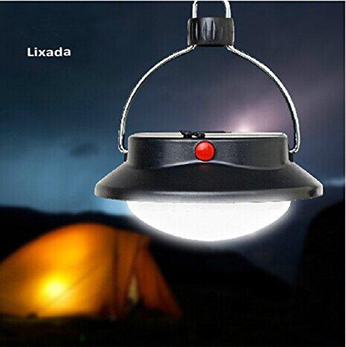Lixada 60 LED Lámpara Colgante de Acampa Campamento Tienda o de Emergencia con Pantalla Círculo Carpa Luz blanca 2