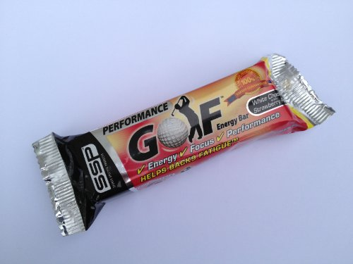 SSP Golf Performance Energy Bars Mixed Box 24 x 90g bars- 4 Flavours by SSP Golf Performance Energy Bars 1