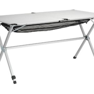 Campart Michigan dlx Camping Table 140 x 80 x 70 cm Aluminium 13