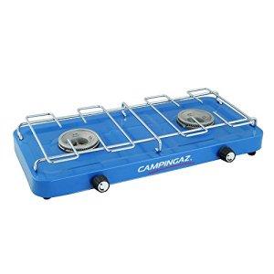 Campingaz - Hornillo para acampada con 2 fuegos, color azul 7