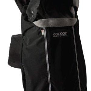 Close Parent Cocoon - Protector portabebés universal, color negro 5