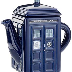 Dr Who - Tetera, diseño de Tardis 1