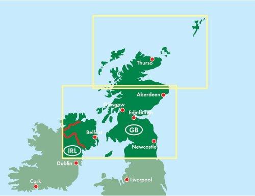 Scotland/North England (Road Maps) 1