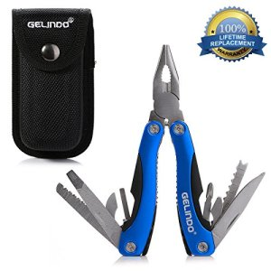 Gelindo Premium Pocket Multitool With Sheath, Knife, Pliers, Saw & More 11