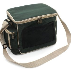 Greenfield Collection CB001H - Bolsa nevera de lujo, liviana, 15 l, color verde bosque 3