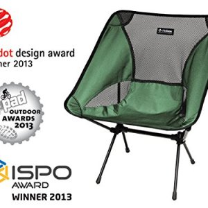 Big Agnes - Helinox - Chair One, The Ultimate Camp Chair, Green 7