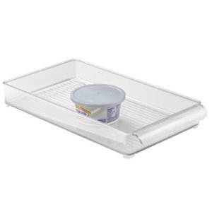 InterDesign Linus Fridge - Organizador, 20 x 37 x 5 cm, color transparente 2