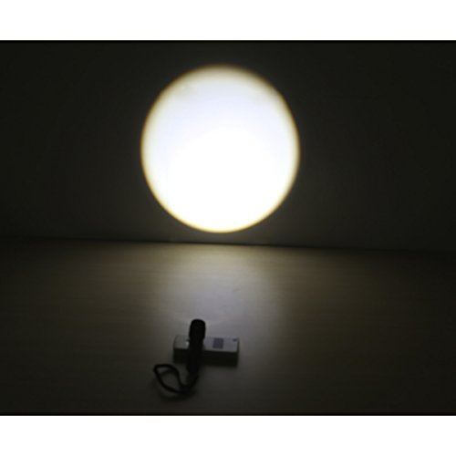 LE Adjustable Focus Mini LED Flashlight Torch, CREE LED, Zoomable, Small Flashlight, Super Bright, Batteries Included 1
