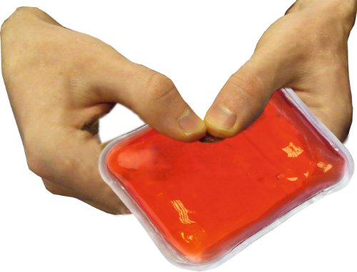 Longridge Gahwr2 Unisex Hand Warmer Reusable Red Pack of 2 1