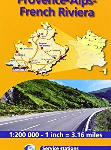 Provence French Riviera 527 Maps/Regional Michelin (English and French Edition) 13