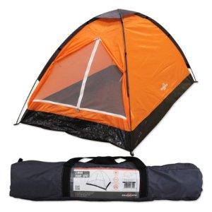 Tienda iglú para dos personas Milestone Camping - Naranja 4