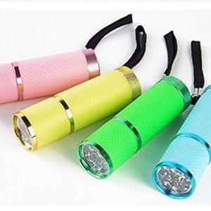 OEM Intsun - Linterna LED don diseño resistente al agua, color negro 6