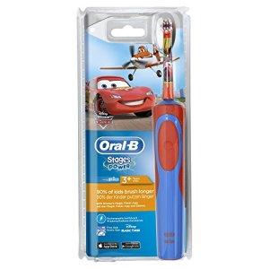 Oral-B Stages Power Kids - Cepillo de dientes eléctrico con los personajes de Cars o Aviones Disney 2