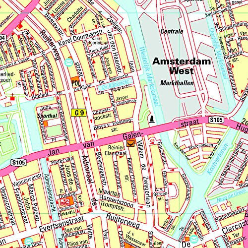 Michelin Map Amsterdam #36 (Maps/City (Michelin)) 1