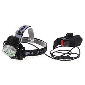 TOMOUNT Linterna Frontal CREE LED Luz Blanco Zoom Para Ciclismo Senderismo Acampada Campismo Deporte Aire Libre 6