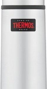 Thermos - Termo (acero inoxidable, compacto y ligero, 0,35 L), color plateado 2