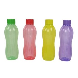 Tupperware Aquasafe Bottle Set of 4 (500ML) by Tupperware 4