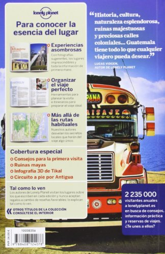 Lonely Planet Guatemala (Travel Guide) (Spanish Edition) 1