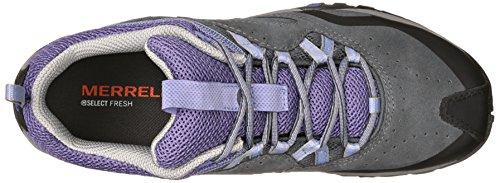 Merrell AZURA BREEZE - zapatillas de trekking y senderismo de piel mujer 2