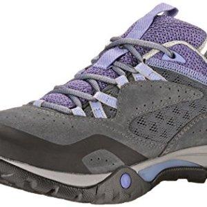 Merrell AZURA BREEZE - zapatillas de trekking y senderismo de piel mujer 5