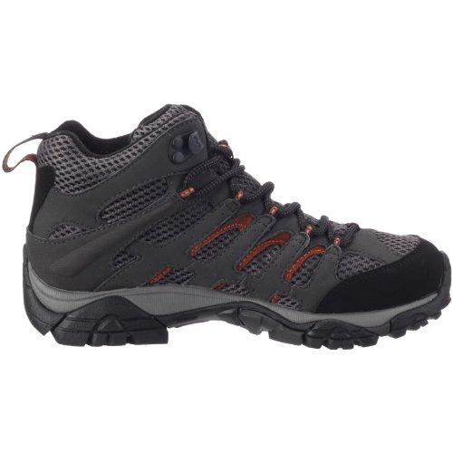Merrell MOAB MID GTX J87314 - Zapatillas de senderismo para mujer, color gris, talla 42 1