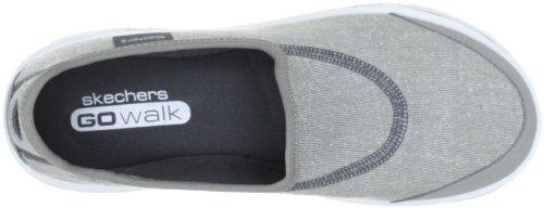 Skechers GO Walk 13510 GRY - Zapatos de tela para mujer 2