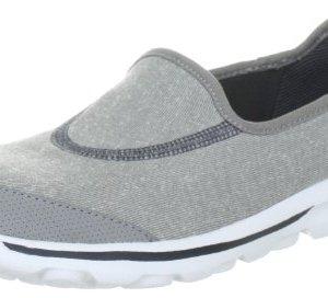 Skechers GO Walk 13510 GRY - Zapatos de tela para mujer 9