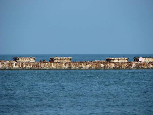 Kiptopeke - Barcos de hormigón