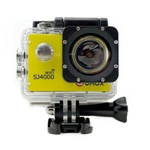 QUMOX WIFI SJ4000 - Oro Cámara de Deporte para casco Impermeable, Video de Alta definición 1080p 720p 12