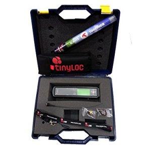 TINYLOC Pack maletín completo de telemetría UHF cetrería, 433-434 MHz 3
